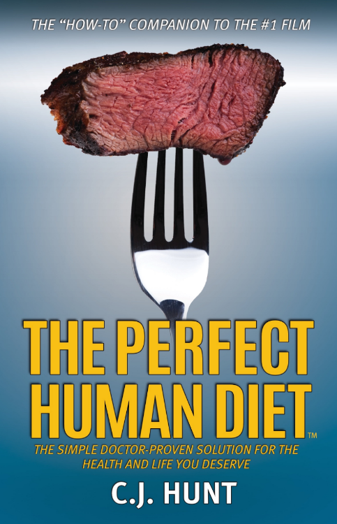 The Perfect Human Diet Coming October 1, 2015 from Morgan James Publishing, NY.