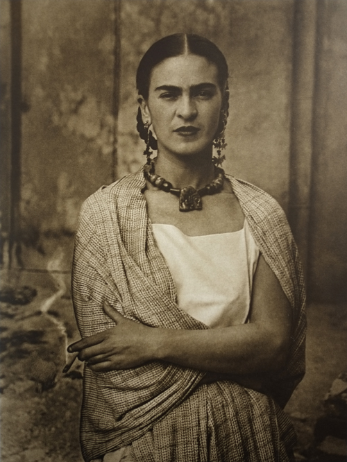 Frida Kahlo, by Guillermo Kahlo (1932)