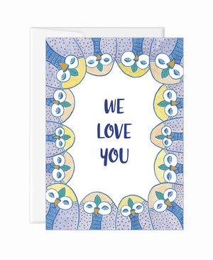 we love you card eve devore