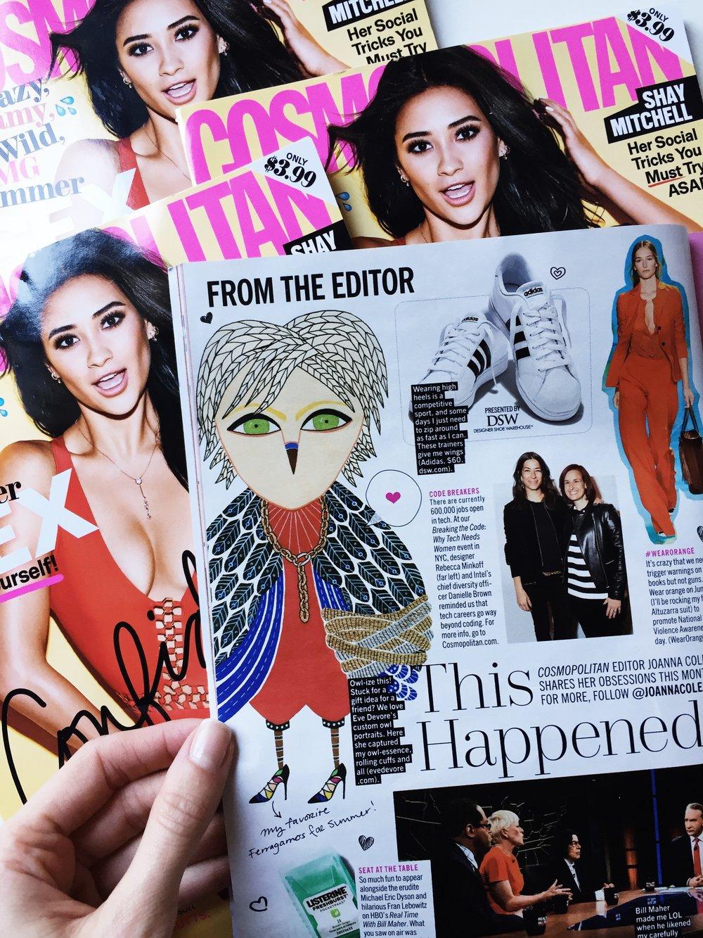 Cosmopolitan Magazine, June 2016