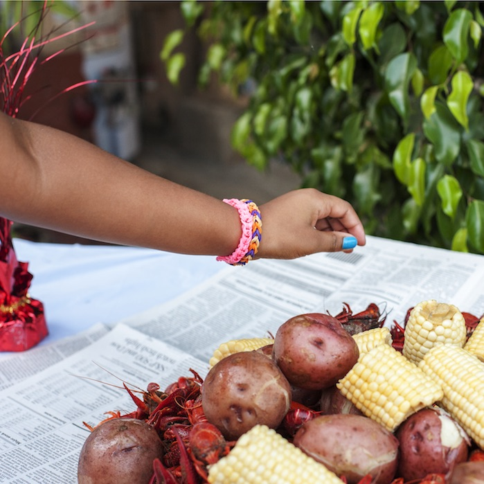 Crawfish, Fourth of July, Los Angeles  2014