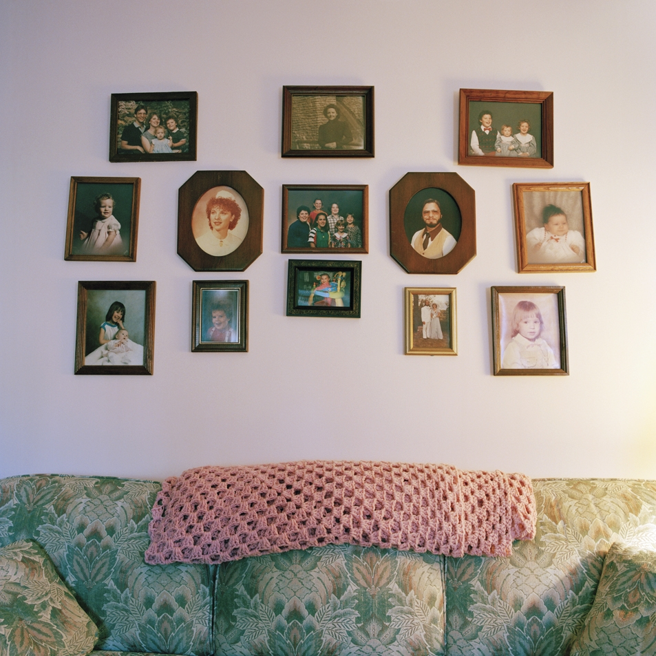 When they painted, they put all Grandma's pictures back just as they were  2011
