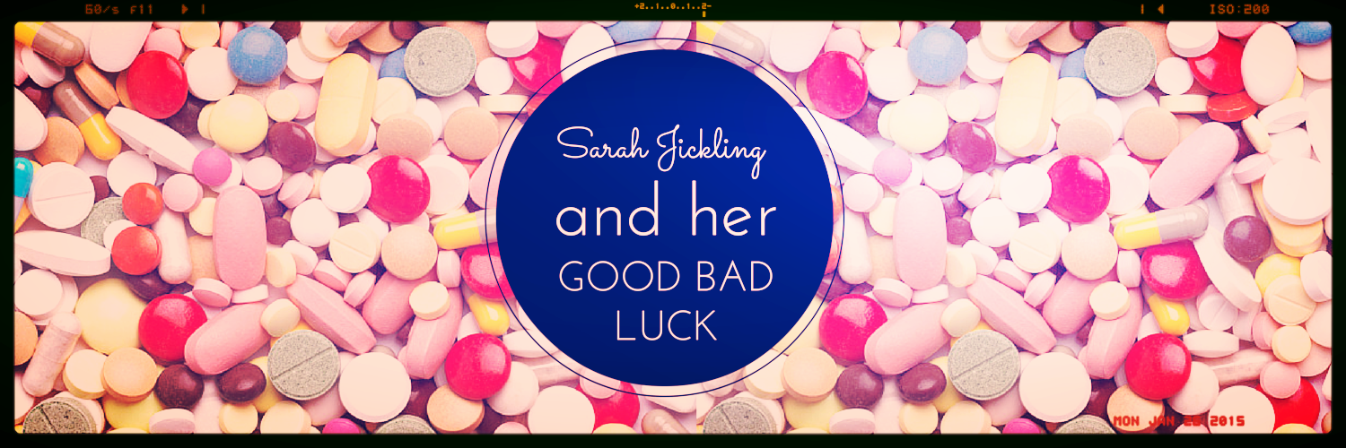 Sarah Jickling and her Good Bad Luck