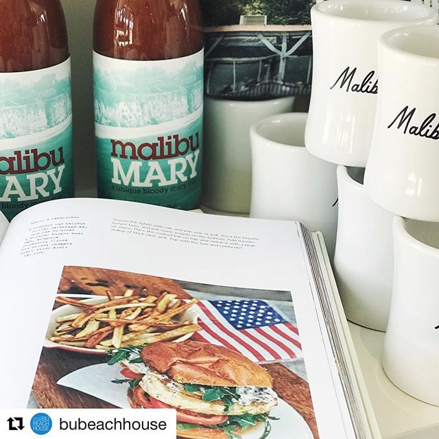 #Repost @bubeachhouse with @get_repost ・・・ Happy July 4th weekend!! Don't forget to pick up some Mary! #poppourparty #malibumary #july4th #bloodymary