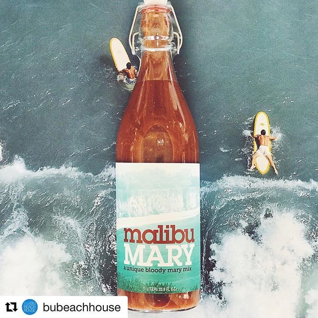 #Repost @bubeachhouse with @get_repost ・・・ 3 day weekend is upon us! 🌊 Have you stocked up on @malibu_mary ?? 🍹☀️ #MalibuMary #BloodyMary #LongWeekend #Malibu #LaborDayWeekend #BuBeachHouse #poppourparty