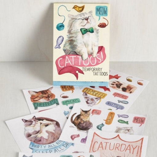 Cat Temporary Tattoos - $12.99