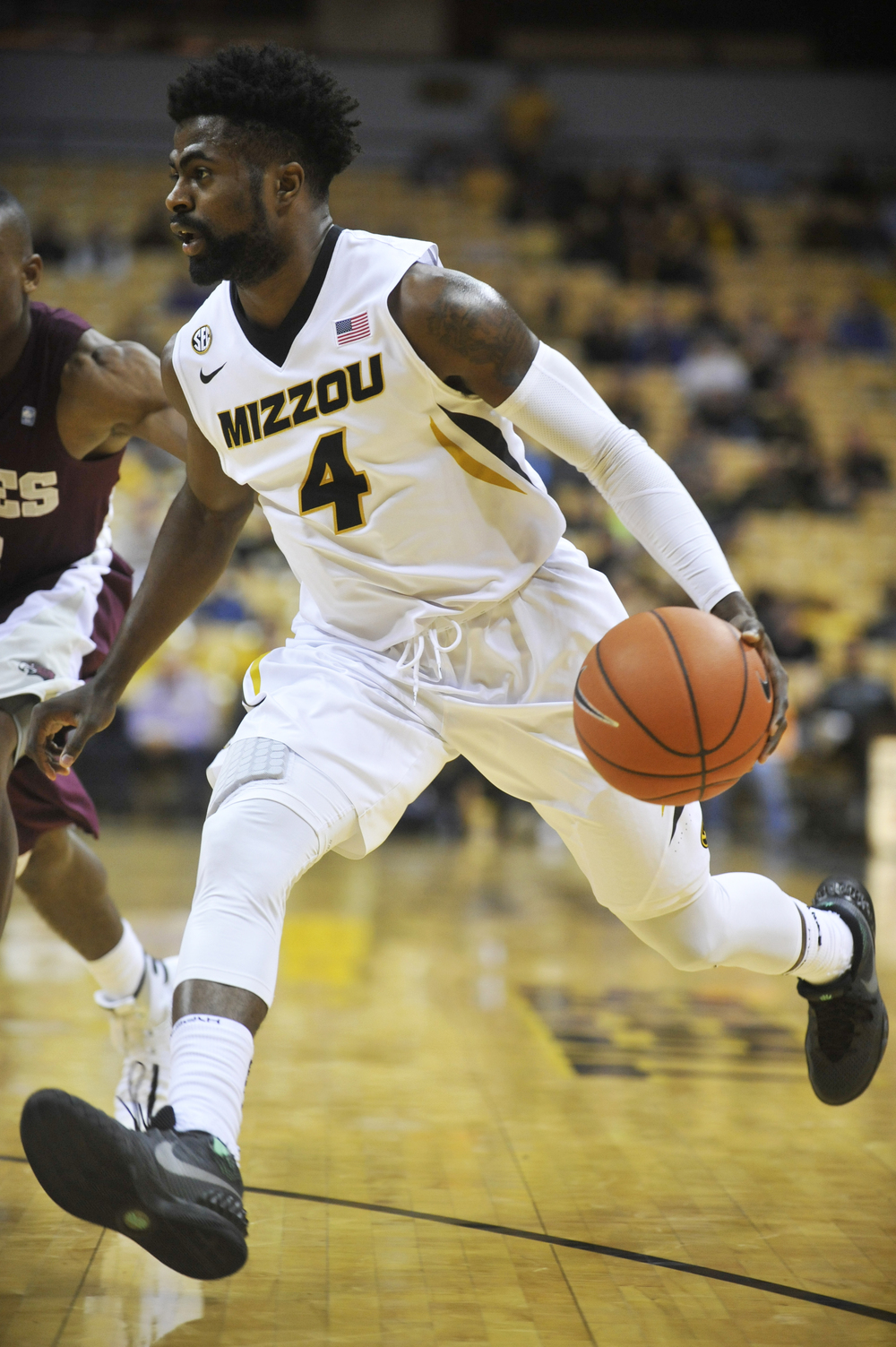 Missouri's Tramaine Isabell drives the ball towards the basket during the game against Maryland-Eastern Shore on Sunday, November 15, 2015 at Mizzou Arena. Missouri won 73-55.