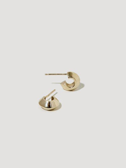 Peak Hoop I — J Hannah Fine Jewelry For Fine La s