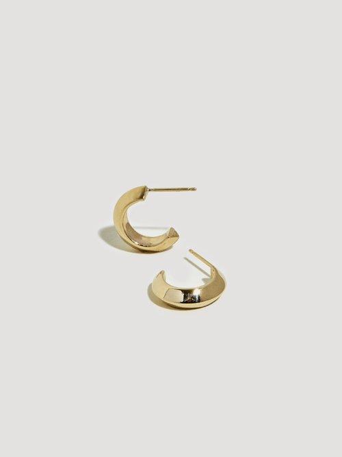 Peak Hoop II — J Hannah Fine Jewelry For Fine La s