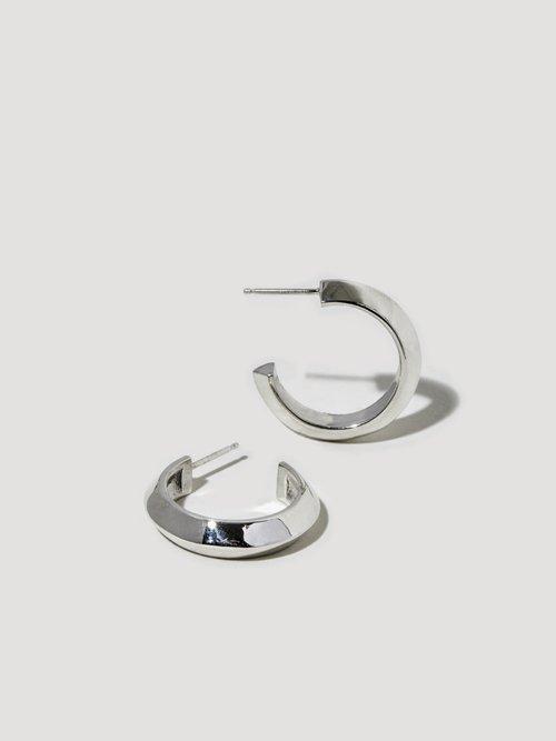 Peak Hoop III — J Hannah Fine Jewelry For Fine La s