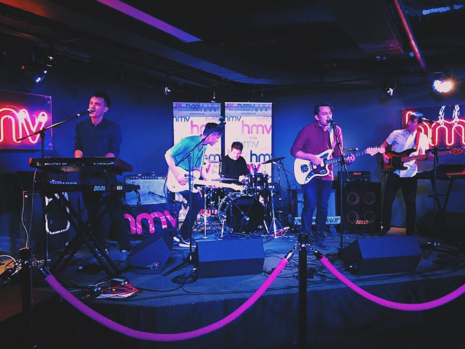 HMV Underground showcase