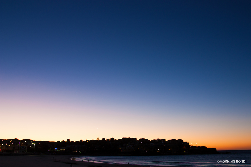 First lights in Bondi (11.05.2015)