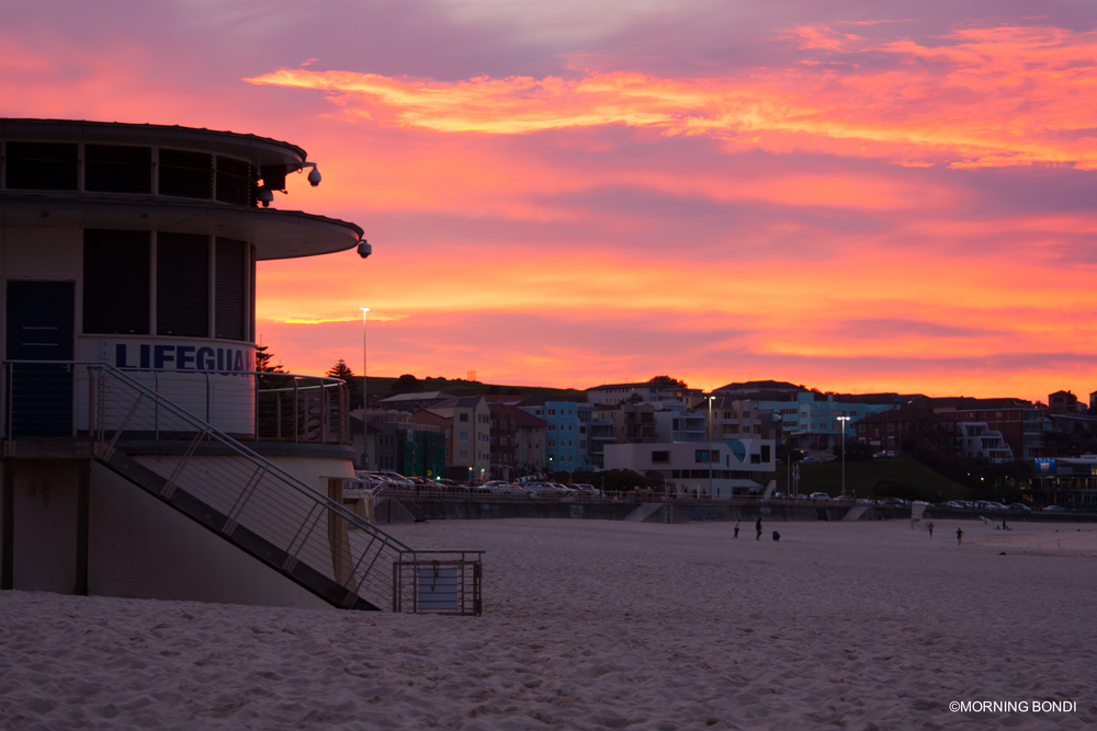 The Bondi Lifeguards pad (02.07.2015)