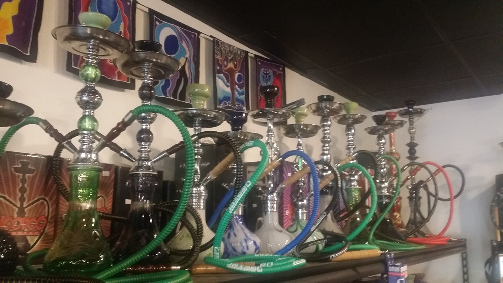 We carry a nice selection of Hookah's