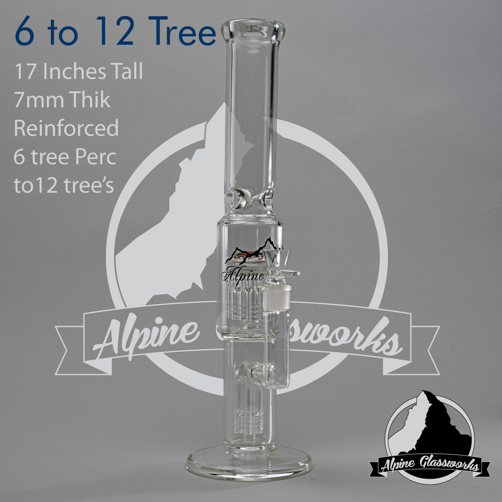 One of the best bongs on the market, Alpine Glassworks.