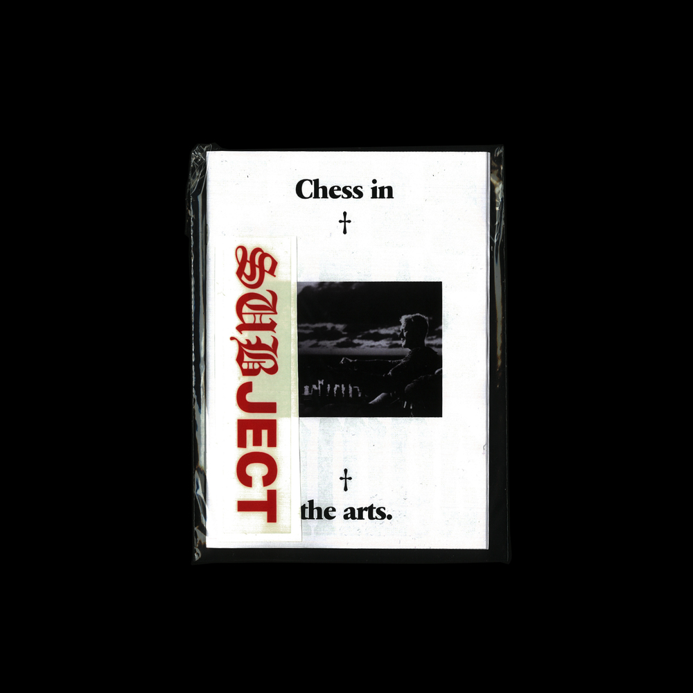 Chess in the arts SOLD OUT