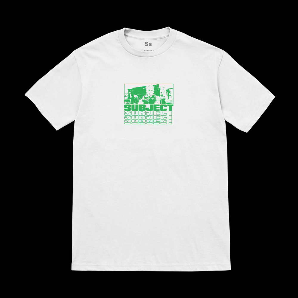 Heat T-Shirt –Green SOLD OUT
