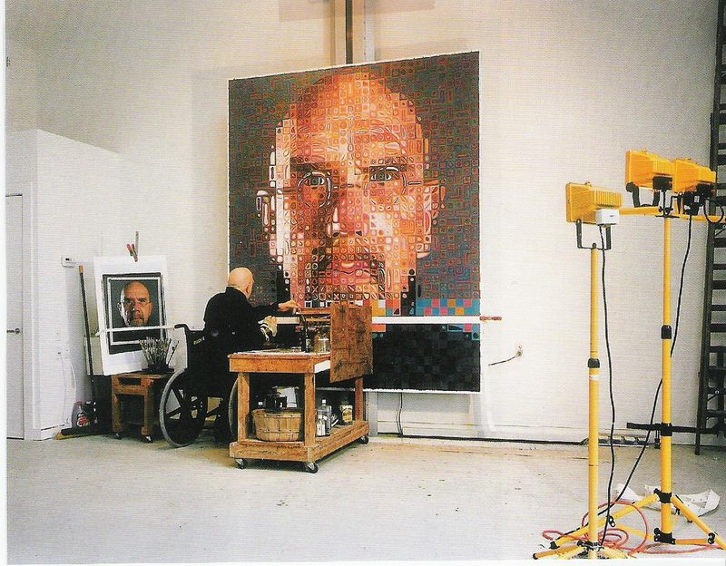 an introduction to the methods of work of chuck close an american photorealist An introduction to the methods of work of chuck close, an american photorealist chuck close, american photorealist, close up chuck close, american.