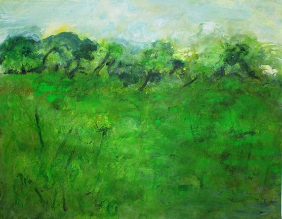 "Livadia, 2012, acrylic on paper, 20 x 26"""