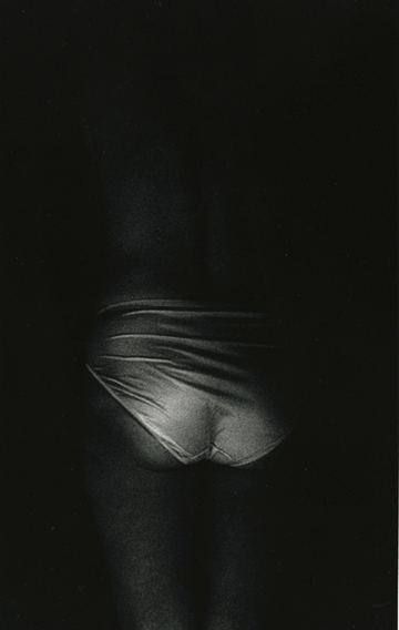 Mother's Closet VI, 1990, gelatin silver print, 46 x 30""