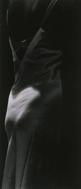 Mother's Closet I, 1989, gelatin silver print, 50 x 24""