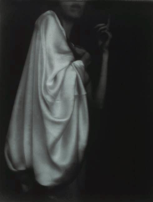 """Annunciation/Angel, 1991, gelatin silver print, 45 x 38"""""""
