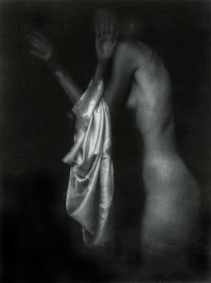 "Annunciation/Encounter with an Angel, 1991, gelatin silver print, 46.5 x 40"""