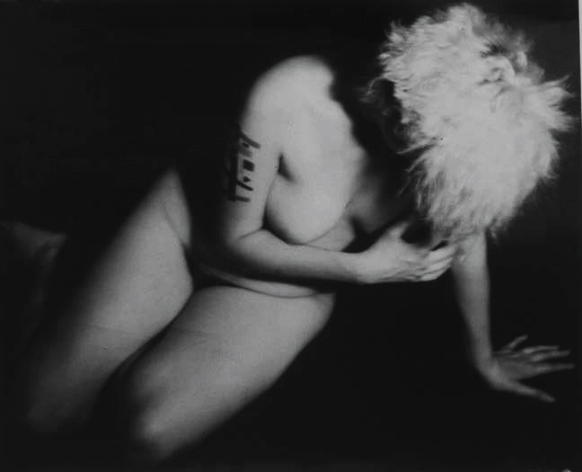 The Penitent Magdalene, 1992, gelatin silver print, 36 x 39""