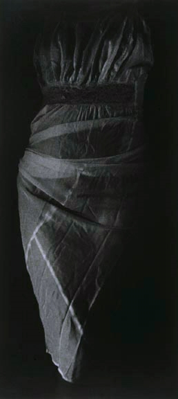 "Mother's Closet IV, 1989, gelatin silver print, 48 x 24"""