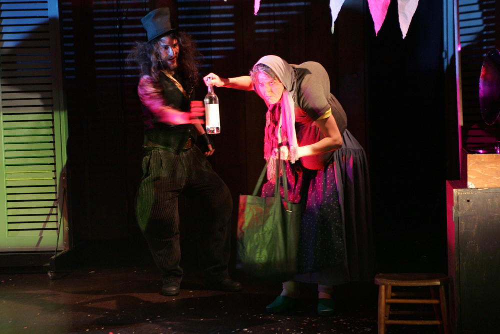 "Ruxy as Mutter, the Gypsy in ""The Crocodile"""