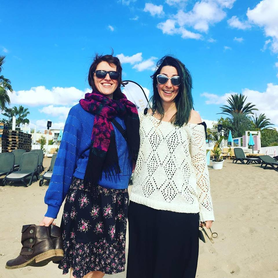 Ruxy and Sarah Rose in Spain for a well-deserved long weekend in Jan 2019
