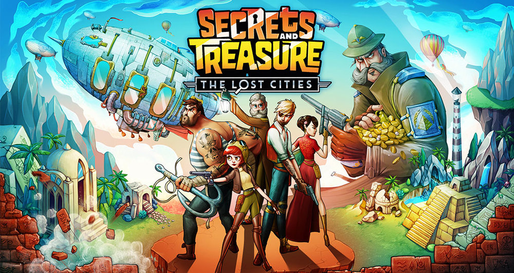 Secrets & Treasure - releasing worldwide soon!