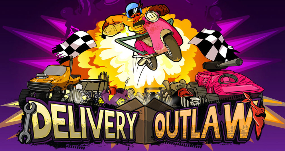 Delivery Outlaw - available on smartphones and tablets