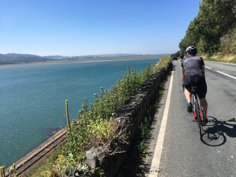 Cycling the Dyfi estuary