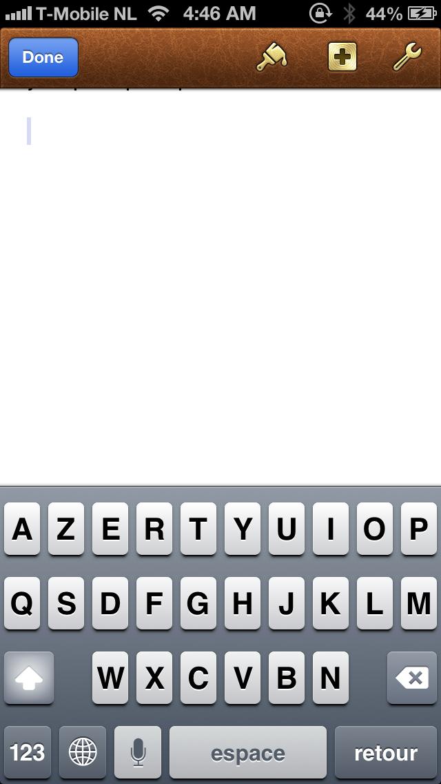 Siri est la - clavier francais