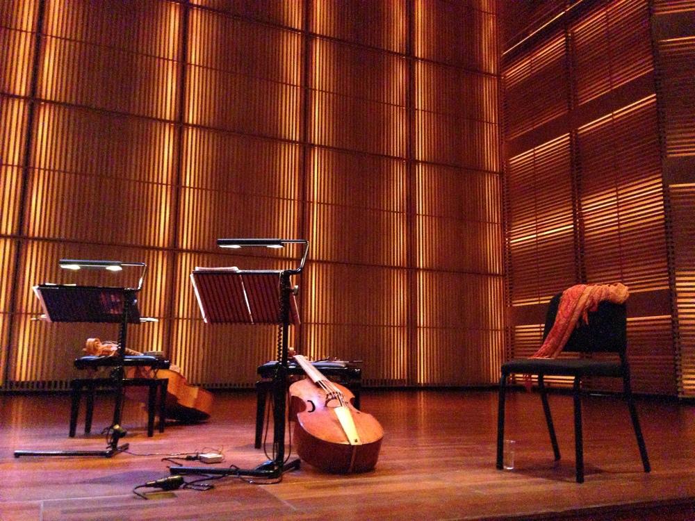Pause, concert Musica transalpina (La Verginella) au Muziekgebouw, Amsterdam