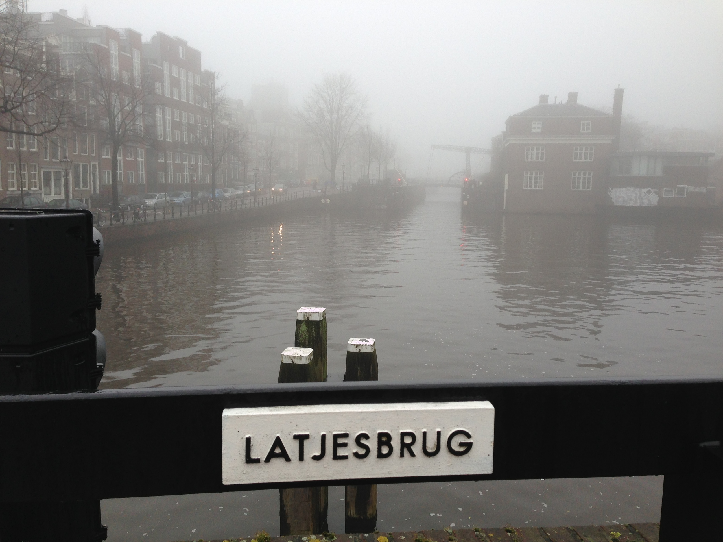 Amsterdam, Latjesbrug.