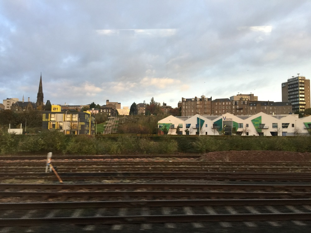 A picture I took when leaving Dundee in October 2015.