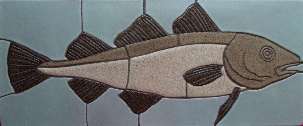 "Cod fish 9""x21"""