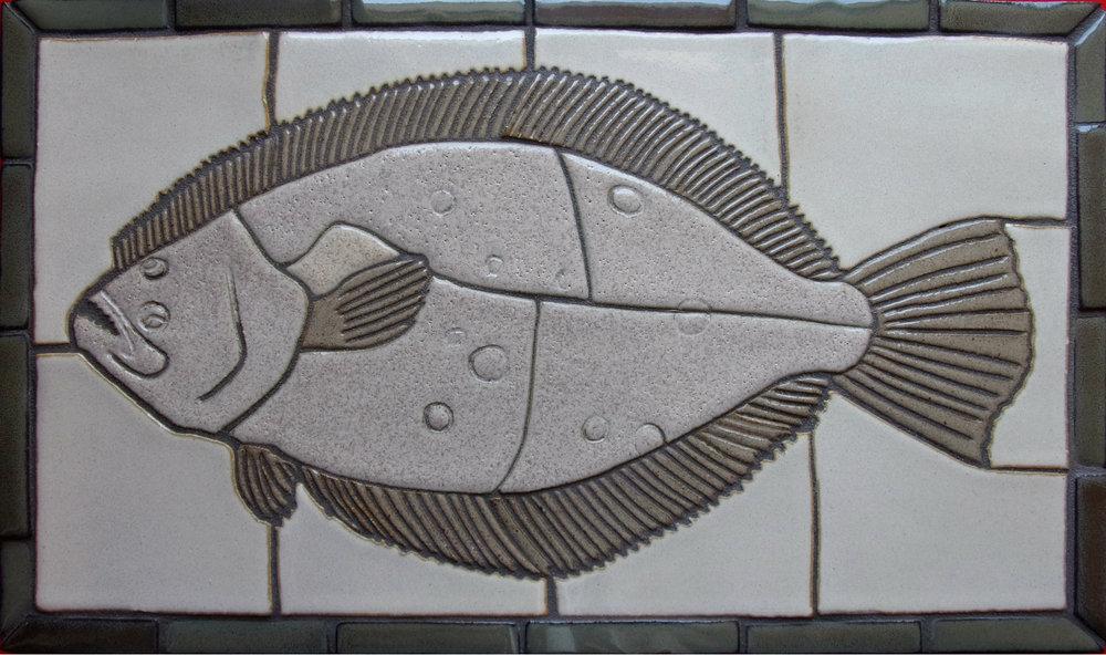 """Flounder 12""""x 20"""""""
