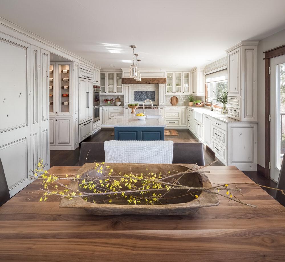 White Blue and Wood Kitchen.jpg