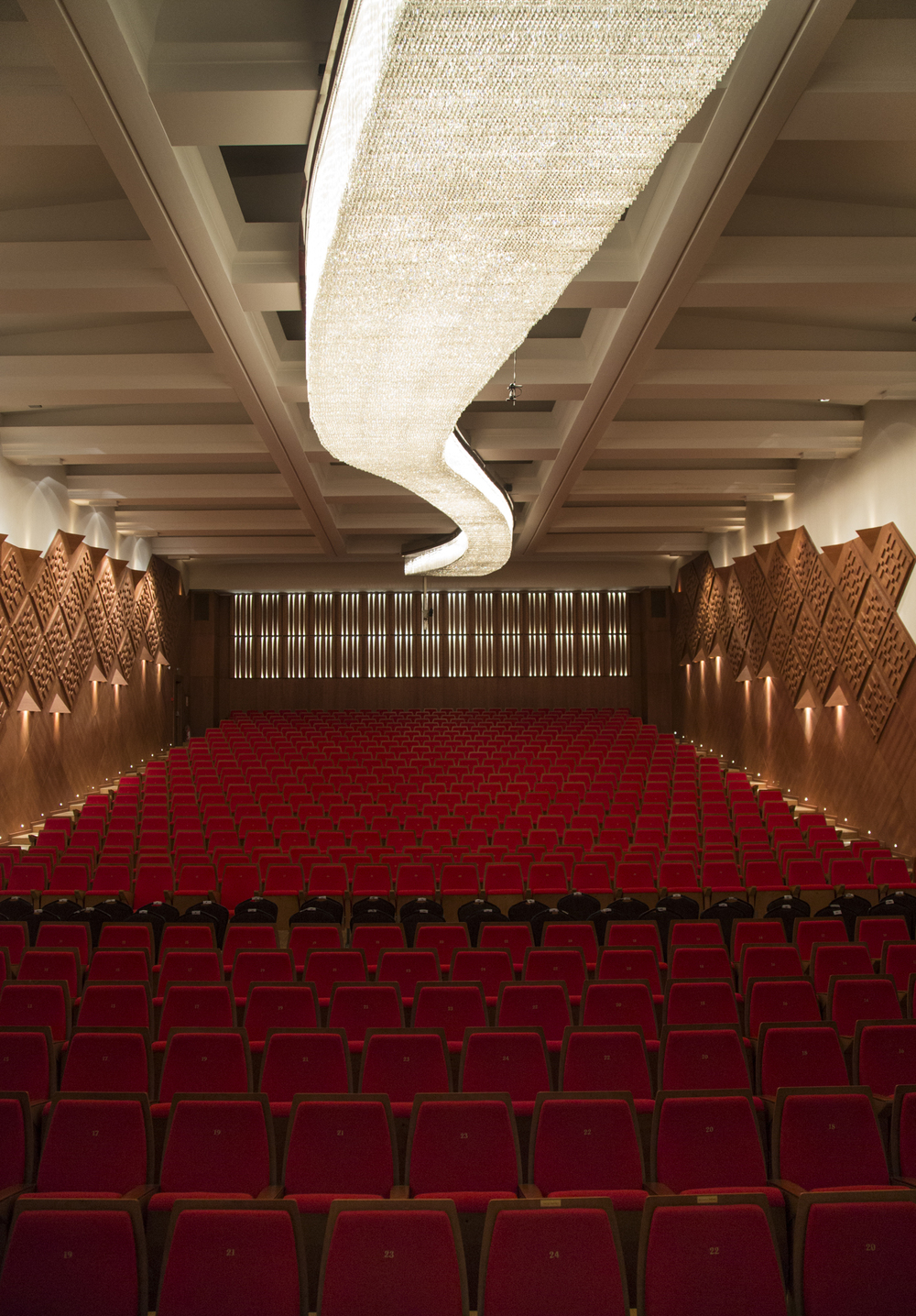 The CSO concert room. The orchestra is supposed to get a newer and better room to perform in. The new building has been in constructions for over a decade now due to budgetary issues. Ankara, 18th of December 2014.