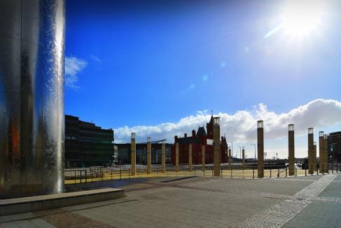 Ruskin warms up Cardiff landmark - Blog | Swegon Air Management
