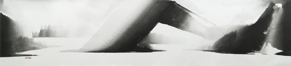 2. Again in The Morrow, 48x209cm, ink on paper, 2015.jpg