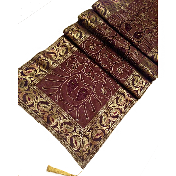 Attractive DHP Arrow Table Runners. 20.99. JT TR 7j Dark Brown.png