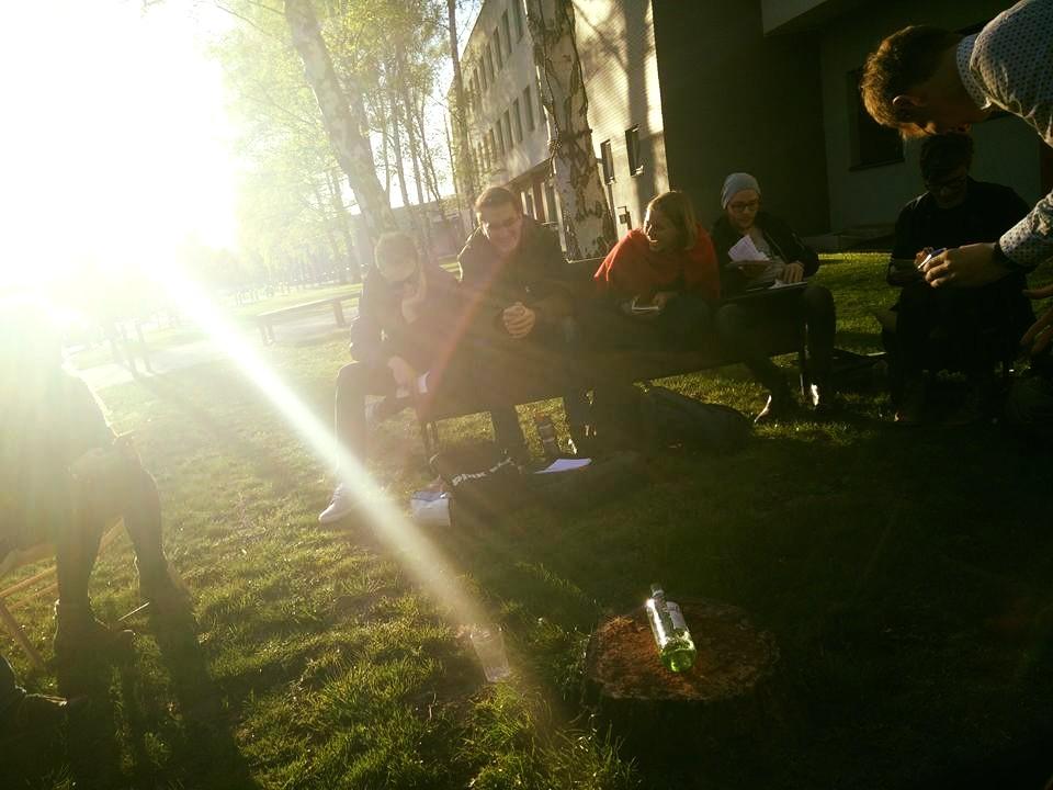Erstes KriWi-Treffen im SoSe16
