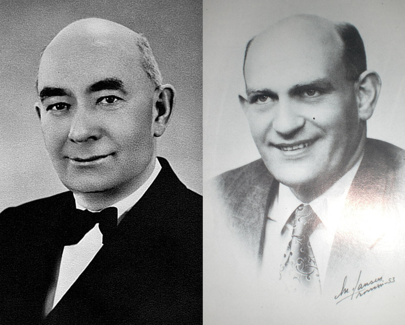 Hilbert og Aksel Karlsen