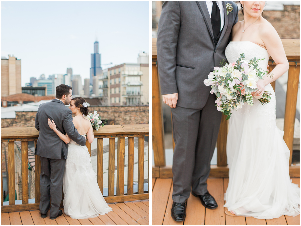 Liana and Michael Neff | Loft on the Lake | Chicago, Illinois | Michelle Mock Photography