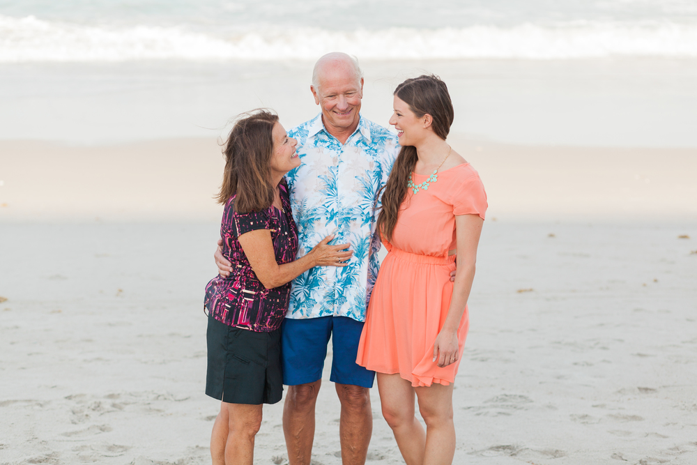Family Beach Photographs | Satellite Beach, FL | Michelle Mock Photography