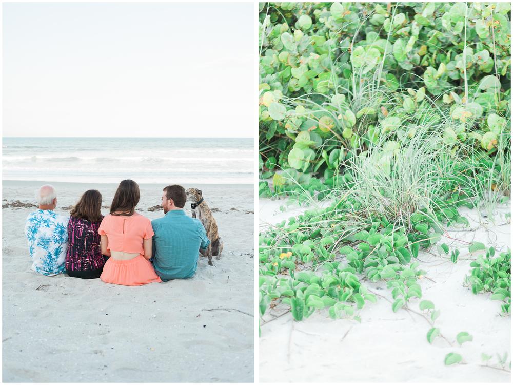 Family Ocean Side Photos | Satellite Beach, FL | Michelle Mock Photography